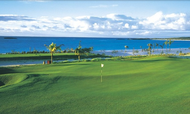 Golf breaks at The Abaco Club, Bahamas. GRD Rating: 8.6