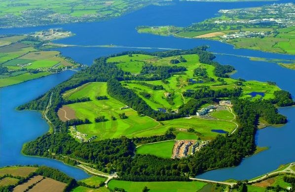 Golf breaks at Fota Island Resort, Ireland. GRD Rating: 8.7
