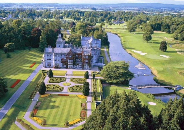 Golf breaks at Adare Manor, Ireland. GRD Rating: 8.6