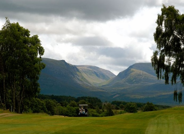 Golf breaks at Macdonald Aviemore Resort, Scotland. GRD Rating: 8.7