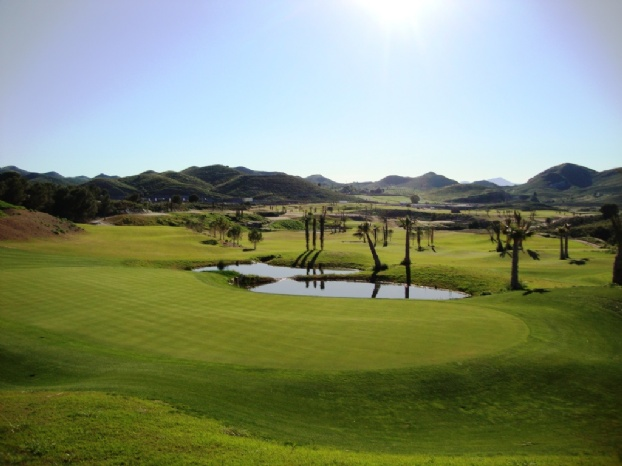 Golf breaks at Lorca Resort Golf & Spa, Spain. GRD Rating: 8.6