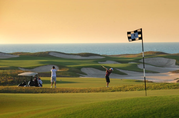 Golf breaks at Saadiyat Beach Golf Club, United Arab Emirates. GRD Rating: 8.6