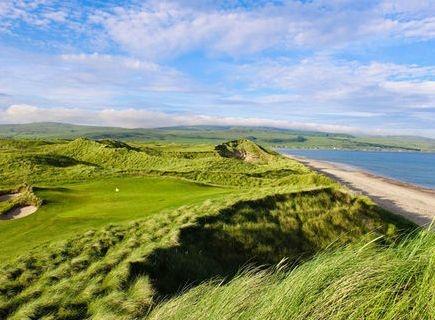 Golf breaks at Machrihanish Dunes, Scotland. GRD Rating: 8.7
