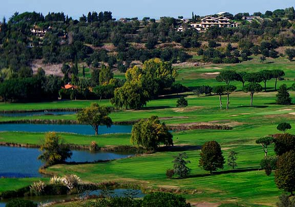 Golf breaks at Golf Resort Castel Gandolfo, Italy. GRD Rating: 8.5