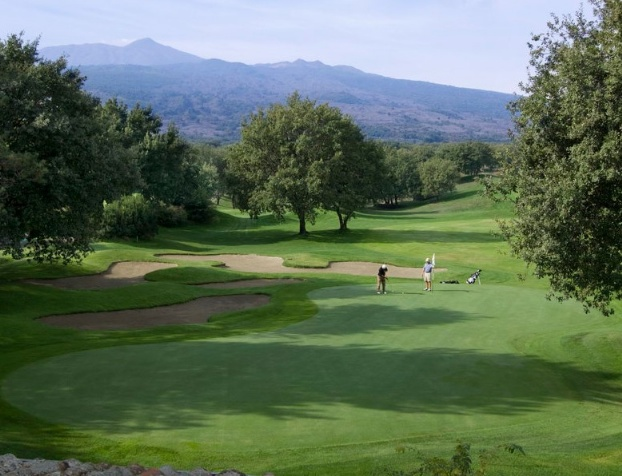 Golf breaks at Etna Golf Resort & Spa, Italy. GRD Rating: 8.6