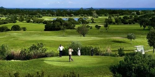 Golf breaks at Is Molas Golf Resort, Italy. GRD Rating: 8.5