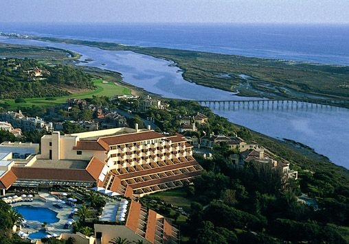 Golf breaks at Hotel Quinta Do Lago, Portugal. GRD Rating: 8.4