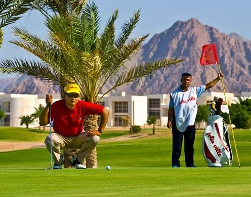 Golf breaks at Jolie Ville Golf & Resort, Egypt. GRD Rating: 8.5